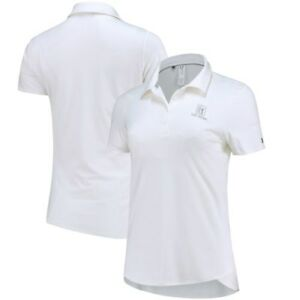 TPC River Highlands Under Armour Women's Leader Performance Polo - White