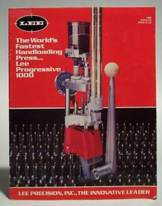 Lee Precision Reloading 1986 product catalog ~~~~~~~~~~~~~~~~~~~~~~~~~~~~~~~~~~~