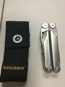 Leatherman Wave Plus 17-in-1 All-Purpose Multi-Tool With Nylon Sheath