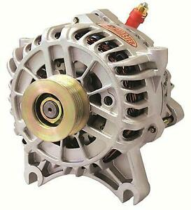 POWERMASTER 47795 200amp Alternator fits Ford 6G Style Natural Finish
