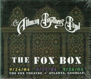 The Allman Brothers Band - Live The Fox Box 8 CD Set New Free Shipping USA