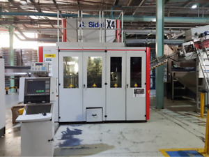 2005 Sidel SBO 4 series 2 Reheat Stretch Blow Molding machine