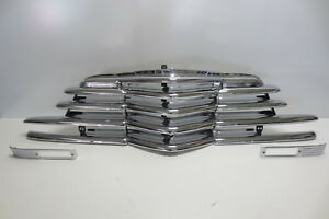 1947 47 Chevy Chevrolet Car Grille Original Triple Plated Chrome SHOW CONDITION