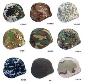 CS Sport Camo Headwear Two Point Suspension Tactical Helmet + Cover Protect M88
