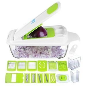 Vegetable Chopper Pro Onion Chopper Mandoline Slicer Grater Strongest Cutter
