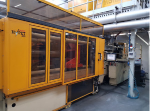 2007 Husky HyPET 300 72-cavity Preform Injection Molding system