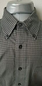 BROOKS BROTHERS Sport Shirt Classic Fit Button Casual Dress Shirt Large L $16.99