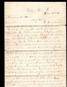 42nd Virginia Corbin's Neck 3101863 Signed 25 Officers 2 Confederate Generals