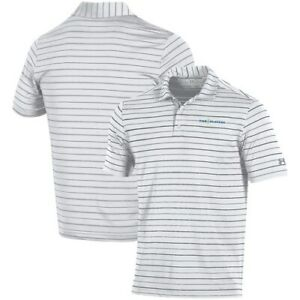 Under Armour THE PLAYERS Stripe 2.0 Performance Polo - WhiteGray