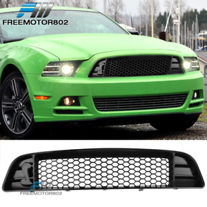 Fits 13-14 Ford Mustang 2-Door Shelby Style Upper Grille For V6 GT