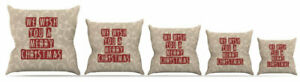 East Urban Home We Wish You a Merry Christmas Throw Pillow