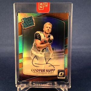 2017 Donruss Optic Bronze Parallel Cooper Kupp Auto RC SP