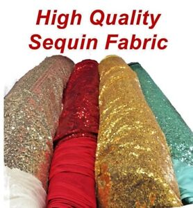 Backdrop Shinny Glitz Sequin Fabric 3mm Sequin on Poly Mesh 54quot; 60quot; Wide BTY