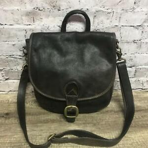 The Walking Co.Distressed Brown Leather Handbag or Backpack Purse
