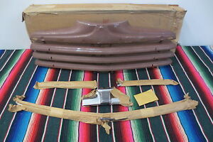 NOS IN BOX W TRIM 1946 1947 1948 Ford NOS grille Chrome Trim Molding Complete