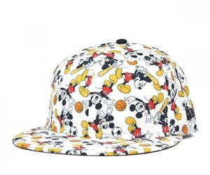 NEW ERA × DISNEY Collaboration 59FIFTY Cap Sports Print White Whole Handle Mens