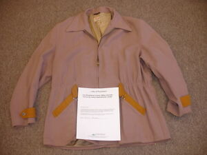 Early 1950's Tom Brookshier Colorado University Game Used Sideline Jacket wLOA