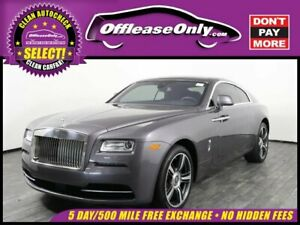2016 Wraith Coupe RWD Off Lease Only 2016 Rolls Royce Wraith Coupe RWD Twin Turbo Premium Unleaded V-1