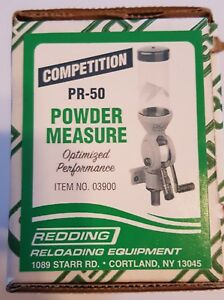03900 REDDING PR-50 COMPETITION POWDER MEASURE - FREE SHIPPING - BRAND NEW