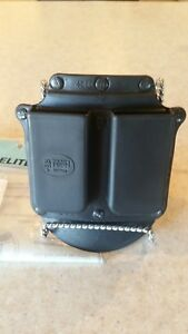 Fobus Double Mag Paddle-Style Pouch ~ No Belt Required