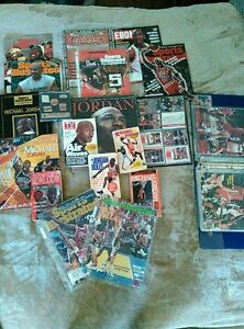 Michael Jordan Collection Cards Magizines Books Pin Set (Package Deal)