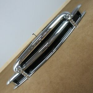1950 Chevrolet Car Grille Original Triple Chrome with Lights Chevy Grill 50