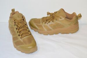 New $125 Under Armour UA Verge Low Mens Hiking Coyote Brown Charged Wild Gripper