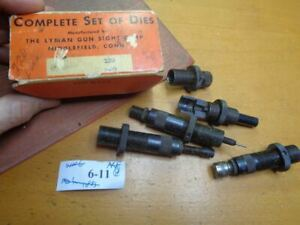 Lyman 310 Hand Reloading Tong Tool Dies & Also Fits Ideal For 220 Swift