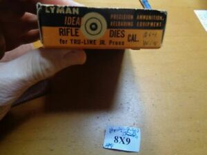 Lyman 310 Hand Reloading Tong Tool Dies & Also Fits Ideal For 264 Winchester