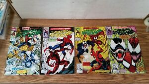 The Amazing Spider-Man #360 #361 #362 & #363 (Mar-June 1992 Marvel)