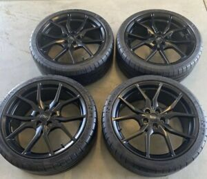 """Ford Focus RS 18"""" ALLOY WHEELS RIMd TIRES OEM FACTORY 2353519"""