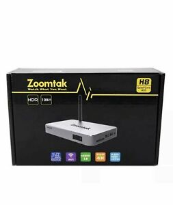 Zoomtak TV [S905X2G8GB4K] H8 Android 7.1 2.4G Wifi HDMI 2.0 Media