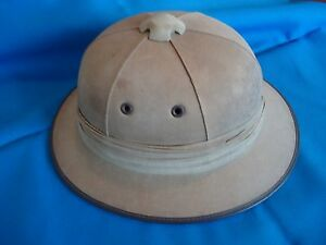 PORTUGAL PORTUGUESE MILITARY COLONIAL TROPICAL AFRICA SAFARI HAT