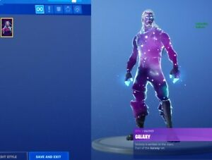 FULL ACCESS GALAXY SKIN COME WITH EMAIL ACCESS (RARE SKIN)
