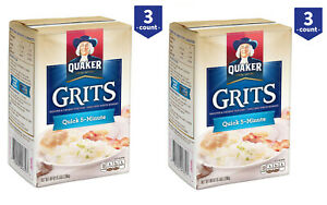 2 Pack Quaker Quick 5-Minute Grits 5 lb., 3 ct.New-Free Shipping