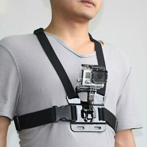 Adjustable Chest Belt Body Strap Mount Harness Compatible With Gopro Hero 234