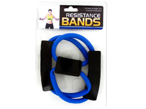 Portable Resistance Bands with Foam Handles - 6 packs