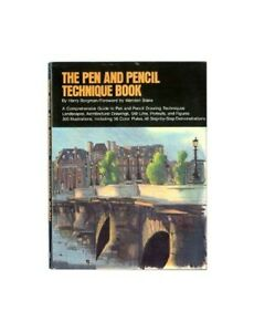 The Pen and Pencil Technique Book by Borgman Harry Paperback Book The Fast Free