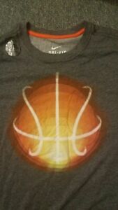 NEW Men's NIKE Dri-Fit Basketball Athletic T-Shirt L OR XL