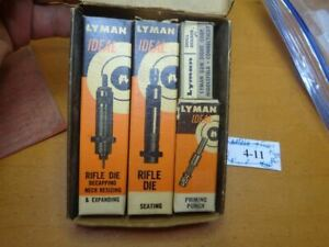 Lyman 310 Hand Reloading Tong Tool Dies & Also Fits Ideal For 243 Winchester