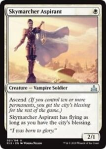 x4 Skymarcher Aspirant MTG Rivals of Ixalan U M/NM, English