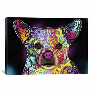 iCanvas Dean Russo Cheemix Canvas Print Wall Art