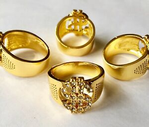 Elvis Style Lucky Dollar Ring In Size 12 .Also Sizes 9.10.11.12.13 In The Shop