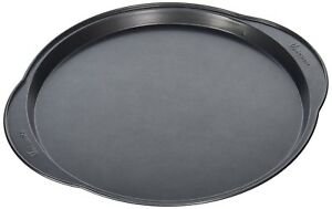 12 Inch Non Stick Pizza PanDishwasher Safe Dark Gray