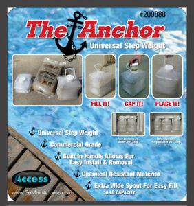 Main Access 200888 Anchor Swimming Pool Ladder & Step Sand Weight(Open Box)