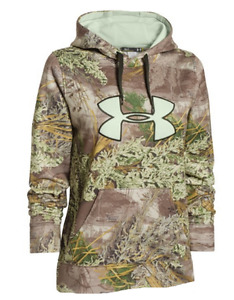 Under Armour Women's Cold Gear 1265757 Hoodie Realtree Max 1 NWT XS Sweatshirt