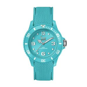 Ice Watch Sixty Nine Medium Turquoise Silicone Band Womens Watch 014764