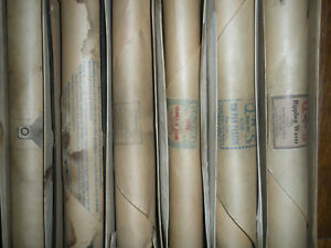 Player Piano rolls antique originals collection. As is condition $15.00