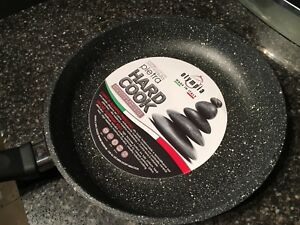 Olympia Pietra Nonstick Reinforced Die-cast Aluminium Made In Italy 10 Inch New
