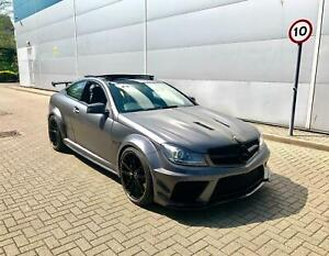 MERCEDES C CLASS W204 COUPE BLACK SERIES FULL BODY KIT TOP DESIGN
